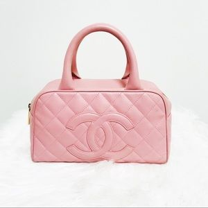 28476ef03ecb CHANEL Timeless CC Bowler Bag Quilted Caviar
